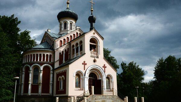 Chrám svatého Vladimíra v Mariánských Lázních - Sputnik Česká republika
