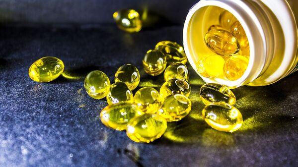 Nádoba s vitamíny. Ilustrační foto - Sputnik Česká republika