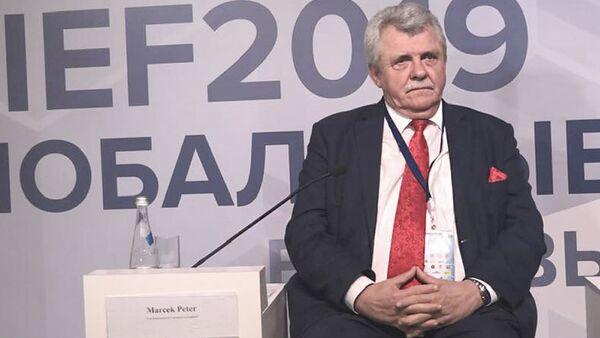 Slovenský poslanec Peter Marček - Sputnik Česká republika