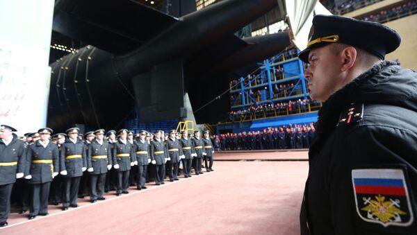 Uvedení jaderné ponorky Belgorod v Arkhangelsku - Sputnik Česká republika