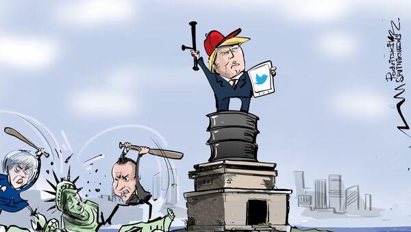 Západ buduje demokracii – Západ ji ničí - Sputnik Česká republika