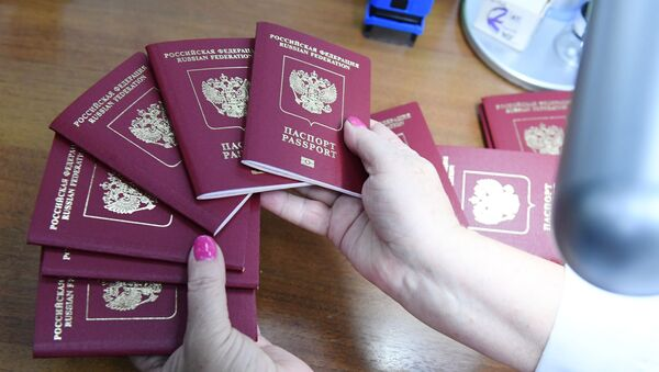 Pasy Ruské federace. Ilustrační foto - Sputnik Česká republika