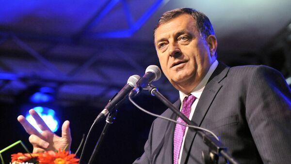 Srbský člen předsednictva Bosny a Hercegoviny Milorad Dodik - Sputnik Česká republika