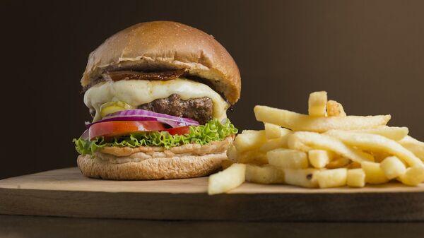 Burger a hranolky - Sputnik Česká republika