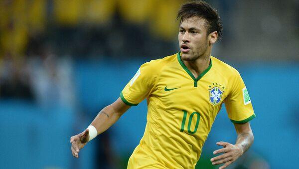 Brazilský fotbalista Neymar - Sputnik Česká republika