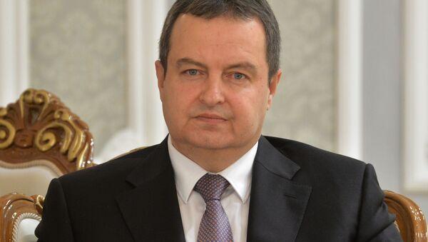 ministr zahraničí Ivica Dačić  - Sputnik Česká republika