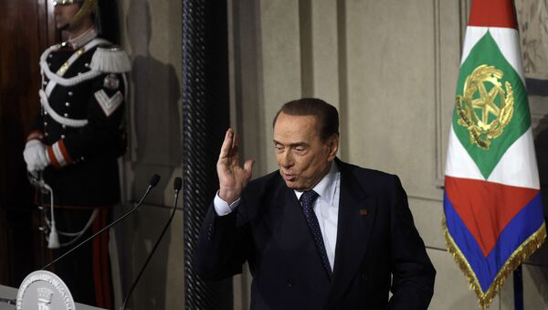 Silvio Berlusconi - Sputnik Česká republika