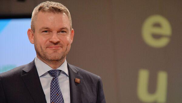 Slovenský premiér Petr Pellegrini - Sputnik Česká republika