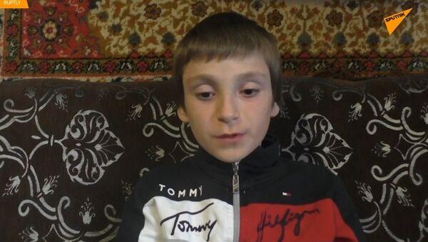 Život po teroristickém útoku. Ukrajinské dítě potřebuje pomoc ruských lékařů  - Sputnik Česká republika