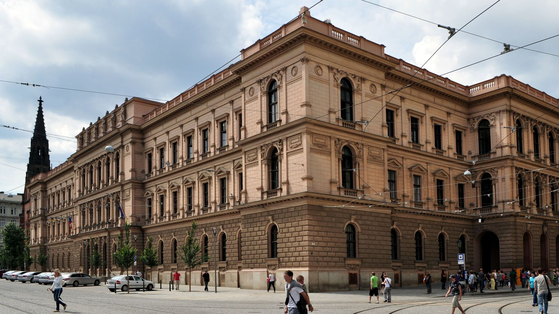 Budova Ústavního soudu ČR - Sputnik Česká republika, 1920, 07.02.2021