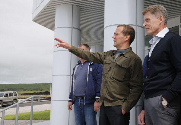 Setkání s vedením Sachalinské oblasti - Sputnik Česká republika