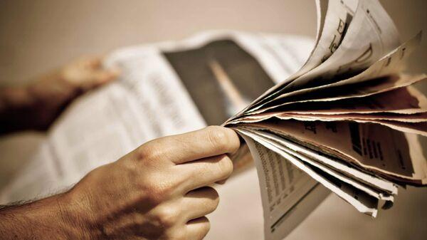 Noviny. Ilustrační foto - Sputnik Česká republika