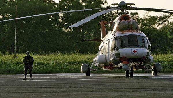 Vrtulník venezuelských záchranářů Mi-172 - Sputnik Česká republika