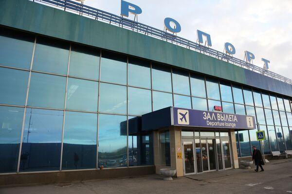 Vstup do budovy mezinárodního letiště v Murmansku, Rusko, 5. května 2019 - Sputnik Česká republika