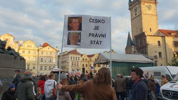 Demonstrace 6. 5. na Staroměstském náměstí - Sputnik Česká republika