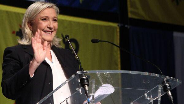 Francouzská nacionalistická politička a právnička Marine Le Penová - Sputnik Česká republika