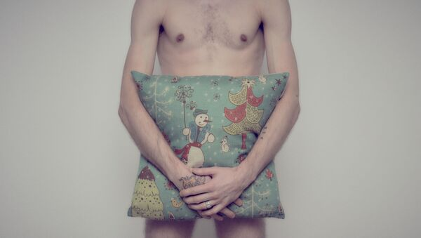 Nahý muž. Ilustrační foto - Sputnik Česká republika