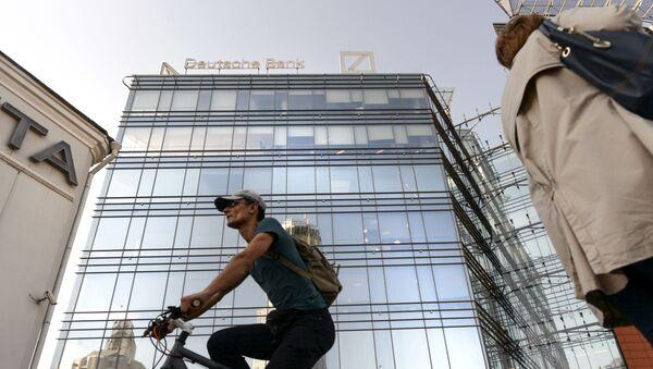 Sídlo banky Deutsche Bank v Moskvě - Sputnik Česká republika