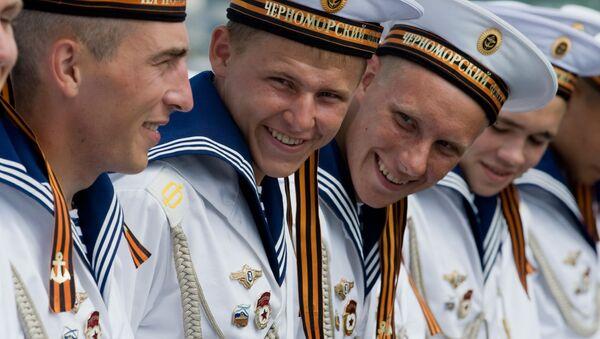 Námořníci raketového křižníku Moskva - Sputnik Česká republika