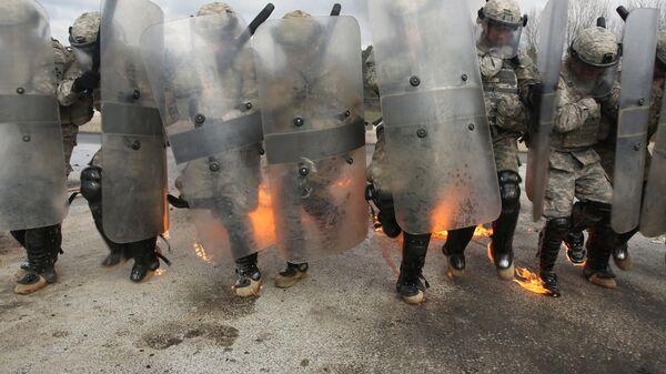 Cvičení vojenské mise NATO v Kosovu - Sputnik Česká republika