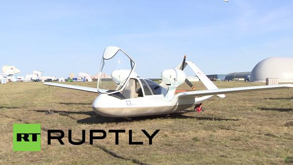 Nejnovější ruský dron byl představen na MAKS - Sputnik Česká republika