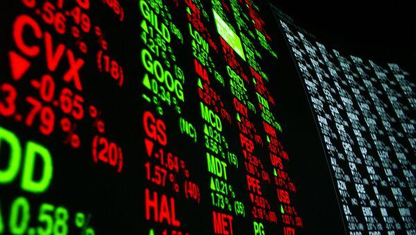 V Číně obviňují z otřesů na fondových trzích Fed USA - Sputnik Česká republika