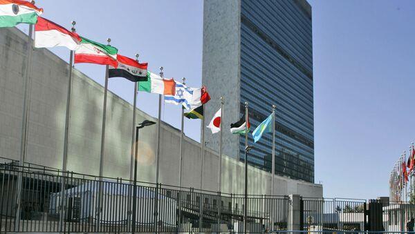 Sídlo OSN v New Yorku - Sputnik Česká republika