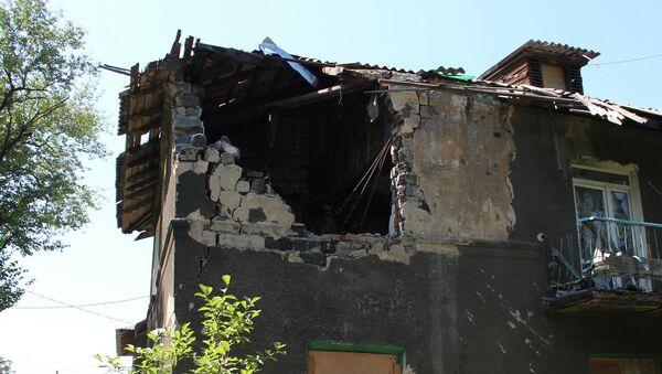 Následky ostřelování - Sputnik Česká republika