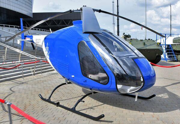 Výcvikový vrtulník Skajmak 3001 na mezinárodní výstavě zbraní a vojenské techniky MILEX-2019 v Minsku - Sputnik Česká republika
