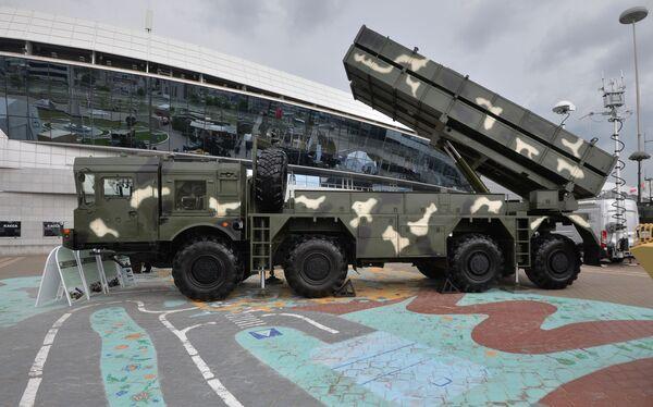 Raketomet Poloněz na mezinárodní výstavě zbraní a vojenské techniky MILEX-2019 v Minsku - Sputnik Česká republika