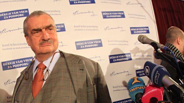 Karel Schwarzenberg - Sputnik Česká republika
