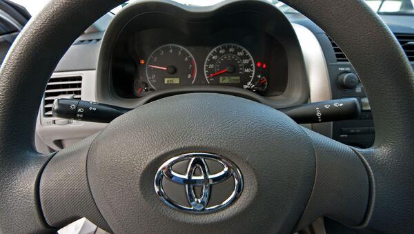 Automobil Toyota Corolla. Ilustrační foto - Sputnik Česká republika