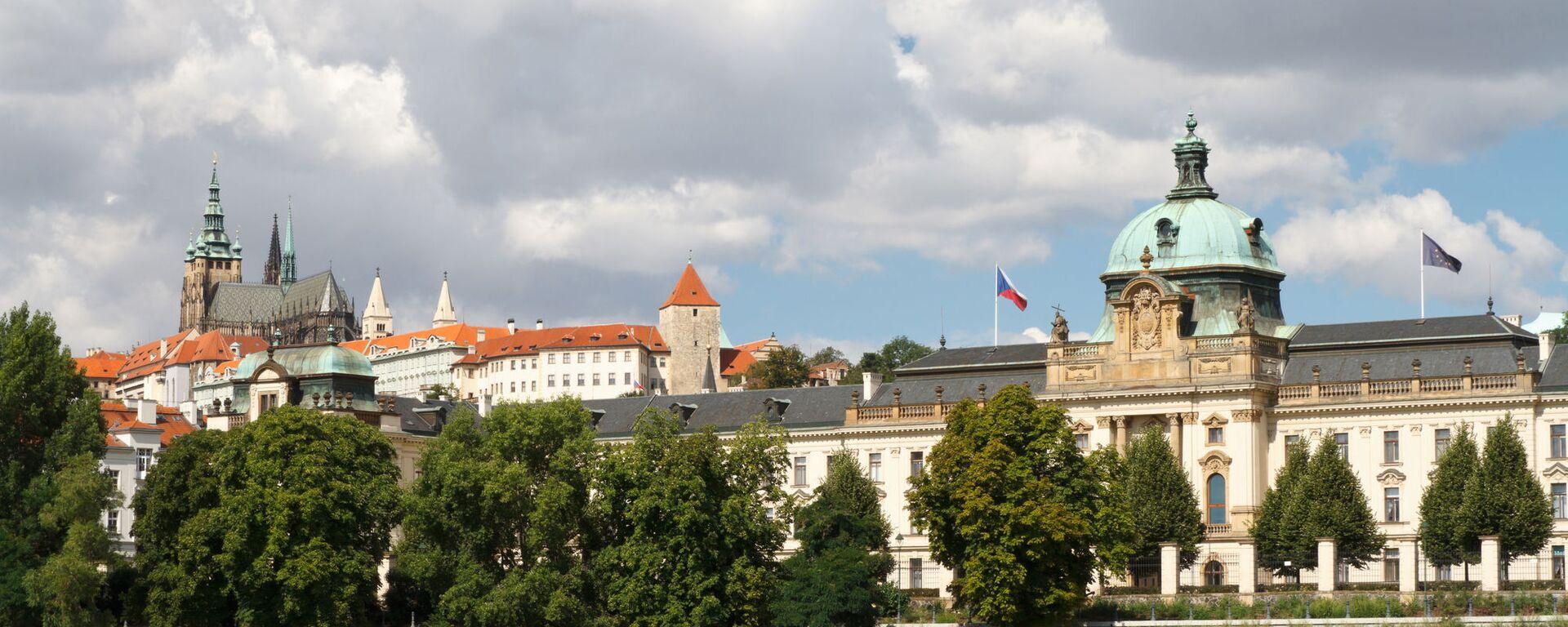 Pohled na Strakovu akademii, kde sídlí česká vláda - Sputnik Česká republika, 1920, 15.02.2021