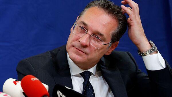 Rakouský vicekancléř Heinz-Christian Strache - Sputnik Česká republika