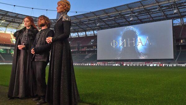 Finální díl Hry o trůny na stadionu v Moskvě sledovalo 10 tisíc lidí  - Sputnik Česká republika