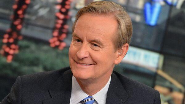 Moderátor amerického kanálu Fox Steve Doocy  - Sputnik Česká republika