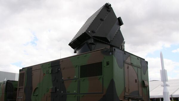 Radar komplexu SAMP-T. Ilustrační foto - Sputnik Česká republika