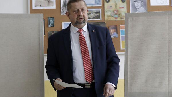 Slovenský politik Štefan Harabin  - Sputnik Česká republika